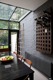 painting brick wallslondon painting brick walls dining room contemporary with kitchen
