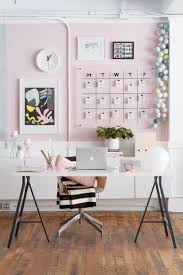 pink home office. Home Accessory Tumblr Decor Office Table Apple Chair Pink Ikea Diy Lamp Clock Pastel