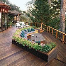 Small Picture Garden Design Garden Design with Large Easy Raised Deck Ideas