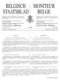 Moniteur Belge 14 Octobre 2008 Erratum Sur L Arr T Royal