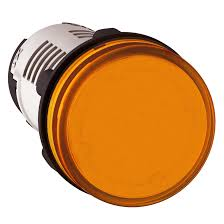 Led Pilot Light 240v Harmony Xb7 Round Pilot Light Integral Led 240v Orange