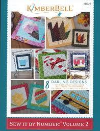 Kimberbell Designs Kimberbell Designs Sew It By Number Volume 2 Book