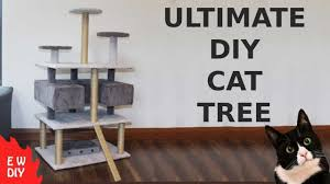 15 Diy Cat Trees How To Build A Cat Tower