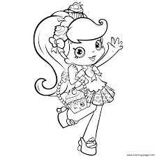 Shopkin Coloring Pages Season 4 Coloring Sheets Pages Season 4 Plant