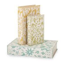Decorative Storage Box Sets Set of 100 Farmhouse Dutch Decorative Table Top Storage Book Boxes 28