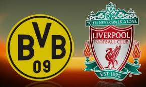 Image result for logo Borussia Dortmund vs Liverpool