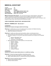 Medical Assistant Objective Statements For Resume 24 Medical Assistant Resume Objective Statement Synonym Examples Of 2
