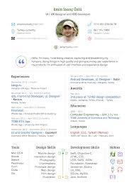 Sketch Resume Or Cv Template Sketch Resource For Sketch Image Zoom