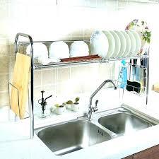 countertop dish rack dish drying rack dish drying rack 6 fabulous over the sink dish drying countertop dish rack