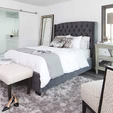 Diva (Graphite) Graphite Eastern King Bed in 2019 | Via Dolce | Grey ...