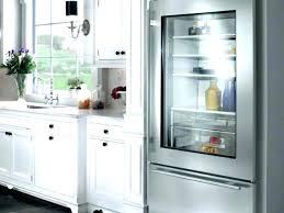 refrigerator glass door residential litre under counter glass door display