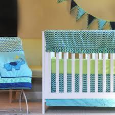 pam grace creations zigzag elephant 10 piece crib bedding set com