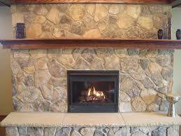 glamorous modern natural stone fireplace pics ideas