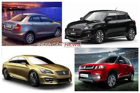 new car launches maruti suzukiUpcoming New Maruti Cars in India in 2017 2018  11 New Cars