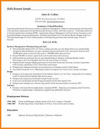 6 Skills On Resume Examples Janitor Resume