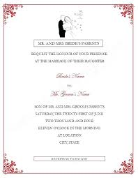 Word Templates For Wedding Invitations Or Word Document Invitation