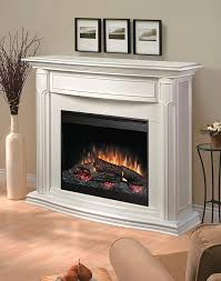 image of make electric fireplace look built in