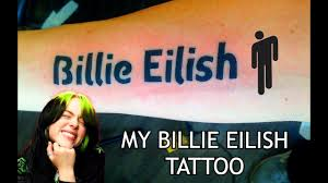Nyc celebrity tattoo artist jonboy took to instagram to share eilish's first tattoo, which happens to. My Billie Eilish Tattoo Youtube