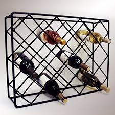 Alluring Wire Wine Racks Amazon Com J Rectangle Diamond Rack Making