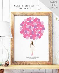 Birthday Guest Book Template The Best Birthday Party Guest Book Home Inspiration And