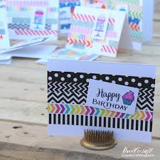 best crafts of 2018 from your favorite bloggers doodlecraft simple tape birthday cards papercrafting