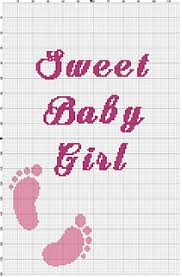 Sweet Baby Girl Graphghan Chart Pattern By Wendy Ravelry