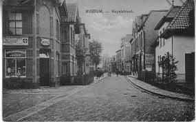 Bussum 1920 Kapelstraat Bussum Oude Fotos Fotos