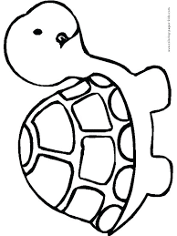 Cute Baby Sea Animal Coloring Pages Cartoon Of Animals Pin B Stockware