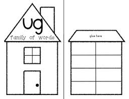 Word Families Template Word Families Set Lift The Flap Activity Interactive