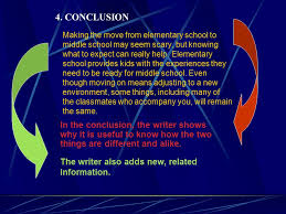 compare and contrast sample essay ppt video online  4 conclusion