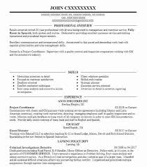Detective And Criminal Investigator Resume Sample Livecareer