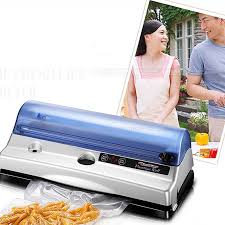 Electric Vacuum Heat Sealing <b>Machine Household Food</b> Packing ...