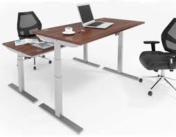 height adjustable office desk. Sit Stand Office Desk 1200mm - Electric Height Adjustable
