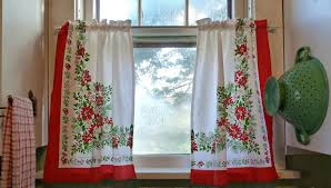 the ten steps needed for putting vintage style kitchen curtains into action vintage style kitchen curtains