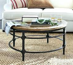 iron coffee table parquet reclaimed wood round metal legs toronto marble kijiji