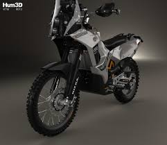 ktm 690 enduro rally kit 2016 3d model hum3d