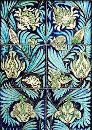 art tile designs. Six Inch Tiles, Fulham Period, I Love The Richness And Featheriness Of This Design, A Step Beyond Straightforward Persian Style. Art Tile Designs T