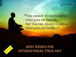 Best Wishes On International Yoga Day Importance Of Yoga Yoga