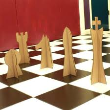 chess base giant pieces sets board game oversized wooden oversized chess pieces
