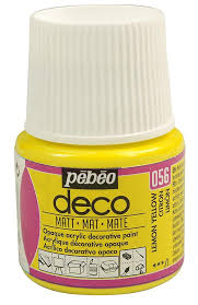 Deco Glaze Colour Chart Pebeo Deco Art Craft And Furniture Paint 45ml Matt Colours