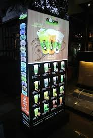 Bubble Vending Machine Mesmerizing BOCHA Shop Picture Of Bocha Tea Bakery Bangkok TripAdvisor