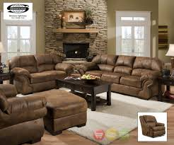 simmons living room furniture. Simmons Living Room Furniture Amazing Pinto Sofa LoveSeat Rocker Recliner Casual Tobacco Brown 3 For 11 E
