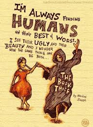 I wanted to tell the book thief many things, about beauty and ... via Relatably.com