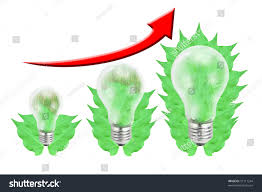 New Leaf Light Bulbs Green Leaf Light Bulb Isolated On Stock Illustration 91111244