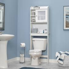 features frosted glass cabinet door bead board back panel cubbyhole storage with adjustable shelf product type overthetoilet bathroom cabinets over toilet h60 bathroom