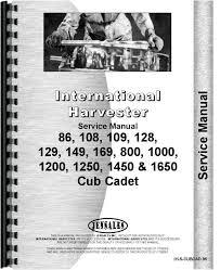 international harvester cub cadet 128 lawn & garden tractor Cub Cadet 128 Wiring Diagram international harvester cub cadet 128 lawn & garden tractor service manual (htih scubcad86) 1972 Cub Cadet 128