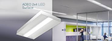 Pinnacle Architectural Lighting Pinnacle Architectural Lighting Adeo 2x4 Surface Led