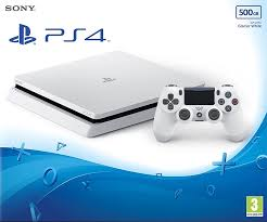 White PlayStation 4 PS4 Console (Page 1 ...