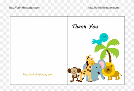 Free Printable Welcome Cards Baby Thank You Cards Clipart Free Printable Baby Shower