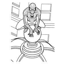 Spiderman Kleurplaten Leuk Voor Kids